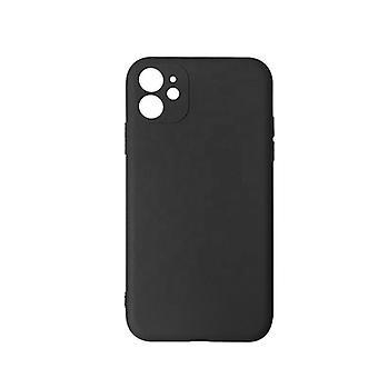 Mjukt mobilskal iPhone 12 Mini Silikon Svart