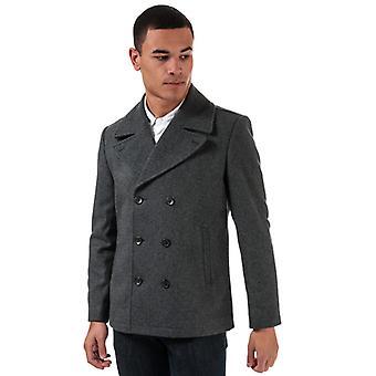 Men's Ben Sherman Peacoat in Grey