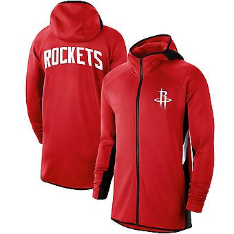 Houston Rockets Showtime Therma Flex Performance Full-zip Hoodie