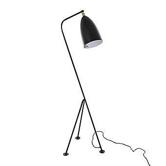 Italux Levigne - Industrial And Retro Floor Lamp Black 1 Light , E27