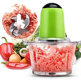 2l Electric Kitchen Meat Grinder, Shredder - Multifunctional Household Food