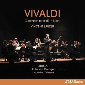 Vivaldi / Lauzer - Concertos Pour Flute a Bec [CD] USA import