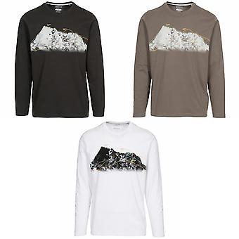 Trespass Mens Wrenburyton Camiseta de Mangas Compridas