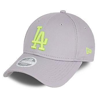New Era 9Forty Women's Cap - Los Angeles Dodgers Grey / Yellow