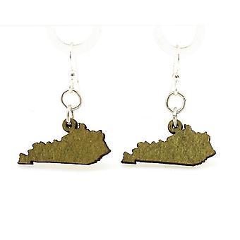 Kentucky State Earrings