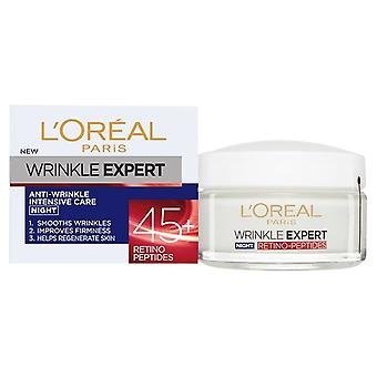 L'Oreal Wrinkle Expert Intensive Care 45+ Night Cream