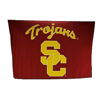 University of Southern California Trojans 39 By 59 Inch Tufted Non-Skid Area Rug