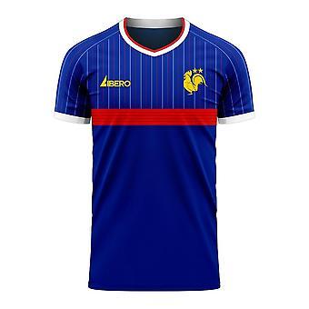 France 2020-2021 Home Concept Football Kit (Libero)