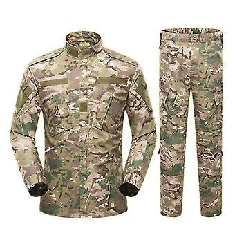 Uniforme militar do Exército Traje Tático Acu Forças Especiais Camisa de Combate Casaco Pant
