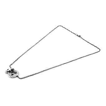 ANCHOR & CREW Lerwick Pulley Silver Necklace Pendant