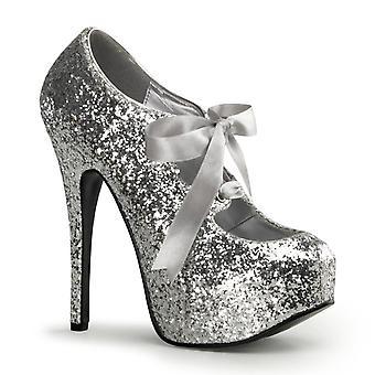 Bordello Women's Shoes TEEZE-10G Slv Gltr