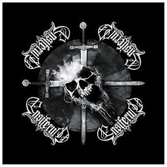 Ensiferum Bandana Skull and Crossed Swords Official New Black (21in x 21in)