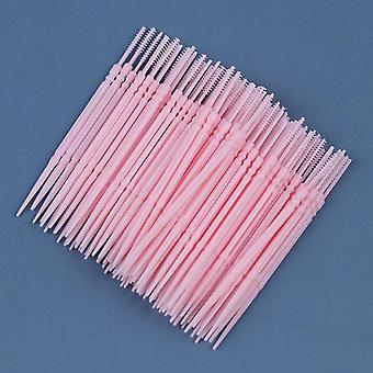 Pick Interdental Brush, Double-head, Teeth Cleaning Toothpick, Oral Care Tool,