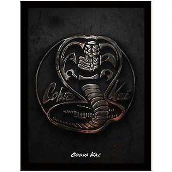 Cobra Kai Framed Picture 16 x 12