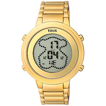Tous watches digibear watch for Women Digital Quartz with stainless steel bracelet 900350035