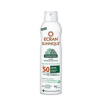 Sun Screen Spray Sunnique Naturals Ecran Spf 50 (250 ml)