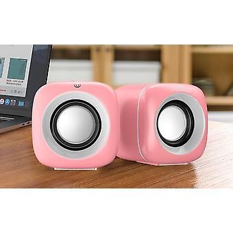 Äänirasiakaiutin PC-kannettavan tietokoneen musiikkisoittimen subwoofer multimediakaiuttimia varten