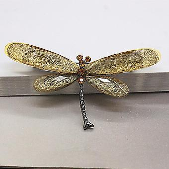 Dragonfly Brooches, Vintage Insect Animal Brooch Pin Series Jewelry
