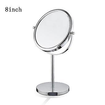 الجدول أعلى 3x ماكياج مرآة لاسلكية الجانب المزدوج مرايا التكبير مستحضرات التجميل للحمام أو غرفة النوم