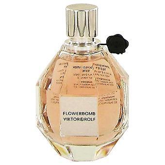 Flowerbomb Eau De Parfum vaporisateur (testeur) par Viktor & Rolf 3.4 oz Eau De Parfum Spray
