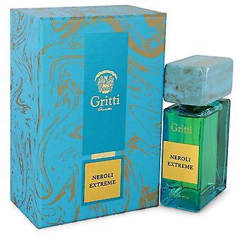 Gritti Neroli Extreme Eau De Parfum Spray (Unisex) By Gritti 3.4 oz Eau De Parfum Spray