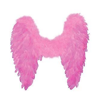 Boland 52823 andělské péřové křídla 50 x 50 cm růžové složené