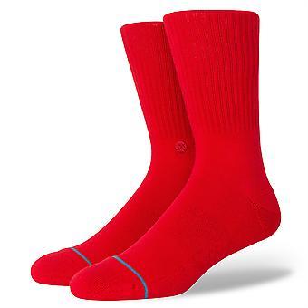 Stance Men's Socken - Icon rot