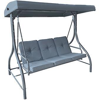 Have swing bakke grå - 3-personers - 190x120x173cm
