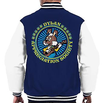 The Magic Roundabout Dylan Appreciation Society Men's Varsity Jacket