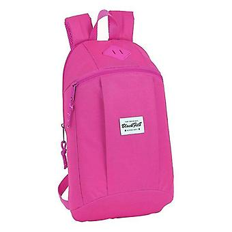 Casual backpack blackfit8 pink