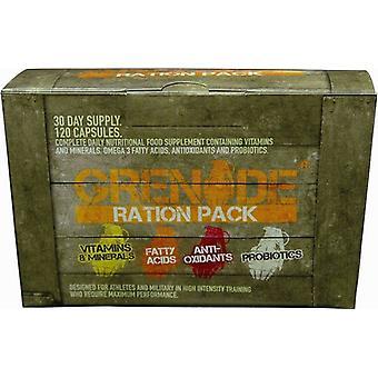 Grenade Ration Pack 120 Capsules