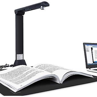Bamboosang X9 Dokumentenkamera, Professioneller 21MP-High-Definition-Buchdokumentenscanner,