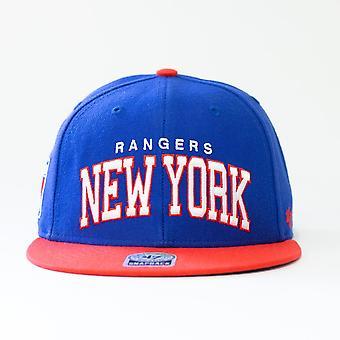 47 Marke Nhl New York Rangers Spellout Snapback Cap