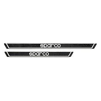 Seuils de voiture Sparco Charbon de bois (450 x 35 mm)