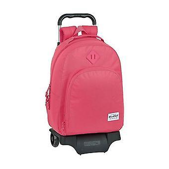 School Reppu pyörillä 905 BlackFit8 Vaaleanpunainen