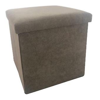 storage box/buffer bag 38 cm 55 litres Alcantara brown