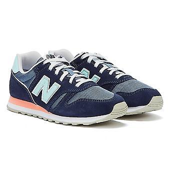 New Balance 373 Damen Blau / Rosa Trainer