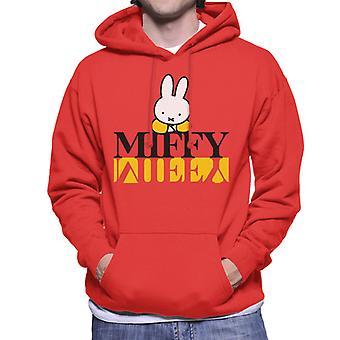 Nijntje Logo Weerspiegeld Men's Hooded Sweatshirt