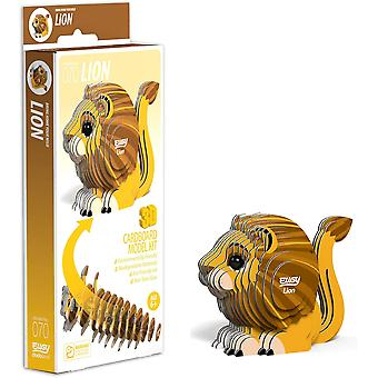 EUGY Lion 3D Craft Kit