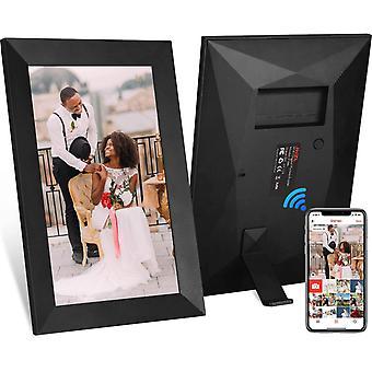 FengChun 10,1 Zoll 16 GB Smart WiFi Cloud Digitaler Bilderrahmen mit 800 x 1280 IPS LCD-Panel,