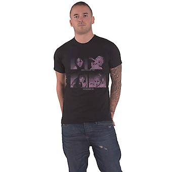 BlackPink T Shirt How You Like That Band Logo uusi virallinen Mens Black