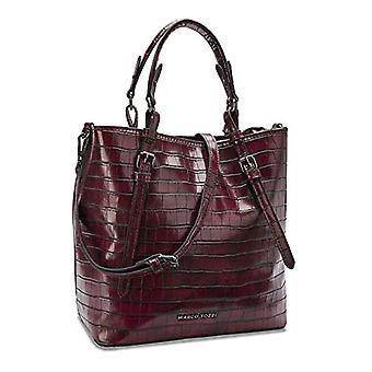MARCO TOZZI 2-2-61027-25, 2-2-61027-25-Women's Bag, Bordeaux Croco, 1 EU