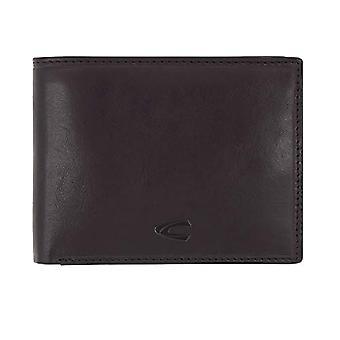 Camel active - Horizontale portemonnee met RFID, voor mannen, met portemonnee en horizontale portemonnee, kleur: Zwart(1)