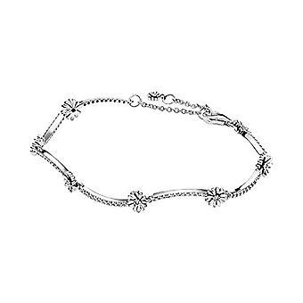 Pandora - Naisten rannekoru hopeassa kuohuviini päivänkakkara ja hopea, väri: hopea, turska.