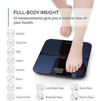 FengChun Smart Scale with Bluetooth, Body Fat Scale, Wireless Digital Bathroom Scale, 12