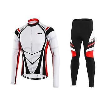 Men's Winter Thermal Fleece Cycling Clothing Set