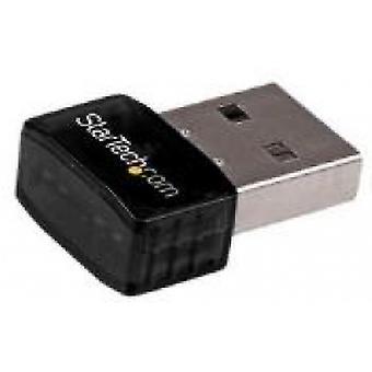 StarTech USB 2.0 300 Mbps Mini Wireless-N Netwerkadapter - 802.11n 2T2R WiFi Adapter