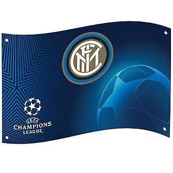 FC Inter Milan Champions League flagg