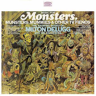 Milton DeLugg and His Orchestra - Musik för monster, Munsters, Mummies & Andra TV-fiends Vinyl