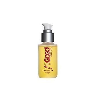 Good Clean Love Love Oil, Caribbean Rose 50 ml